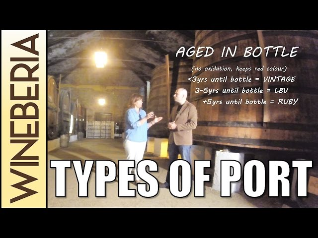 TYPES OF PORT (Qta Pacheca p3) | Aging methods and the difference between Tawny, Ruby, Vintage & LBV