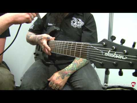 Musikmesse '13 - Jackson Guitars X Series SLAT8 Demo