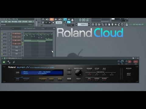 Roland JV-1080 VST Demo Song Taste of 90's & 80's