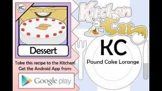 Pound Cake Lorange - Kitchen Cat