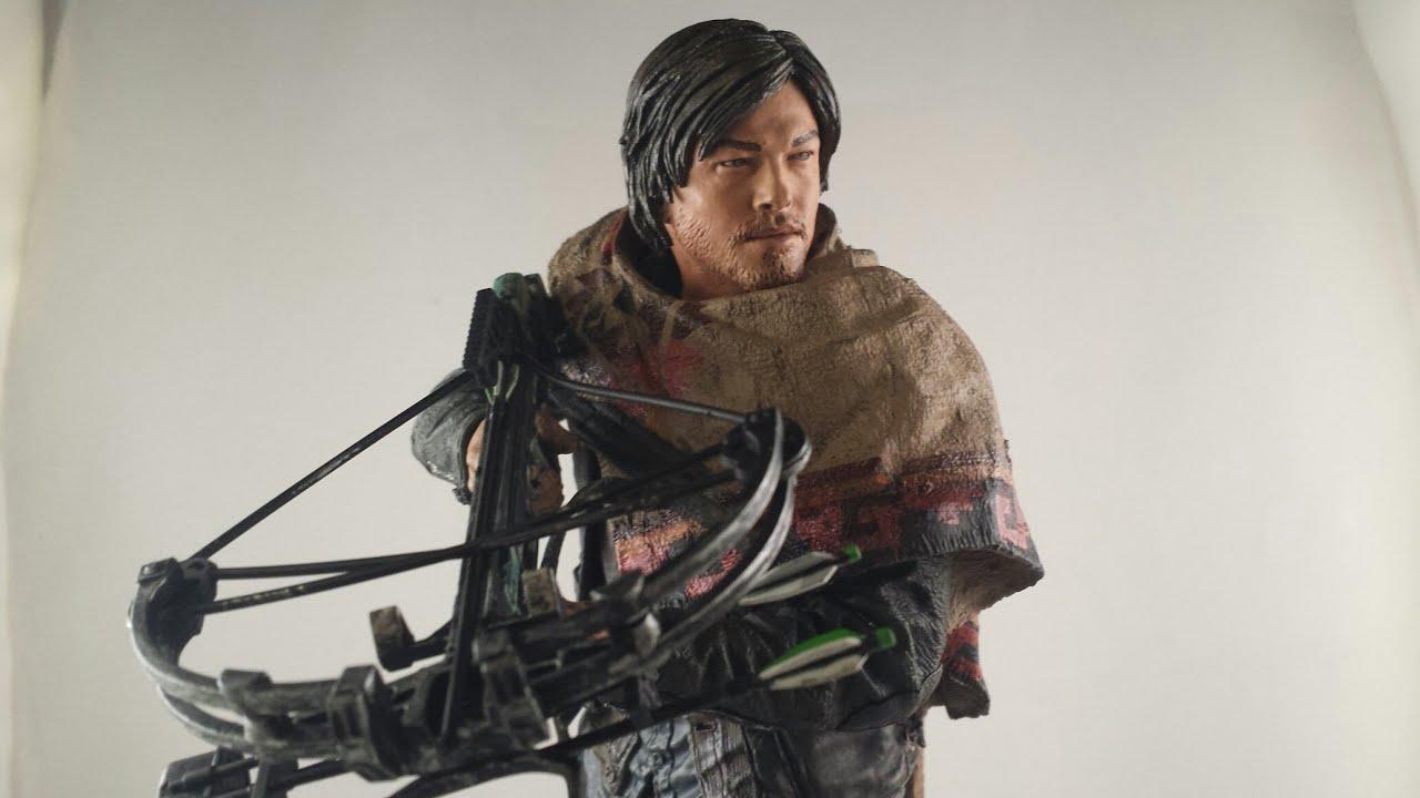 Mcfarlane walking dead series 6 daryl dixon action figure - Mcfarlane Walking Dead Series 6 Daryl Dixon Action Figure 12