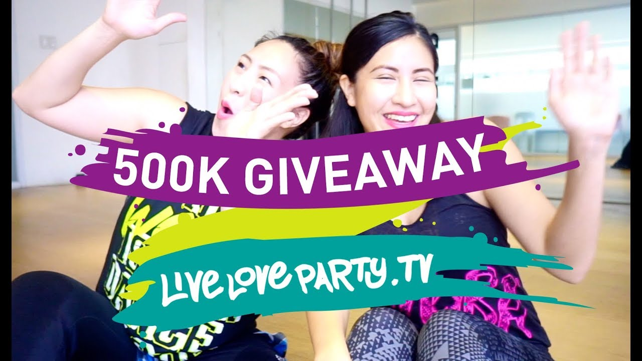 500K GIVEAWAY  | #LIVELOVEPARTY500K