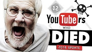 12 YouTubers Who Passed Away | 2018 Update thumbnail