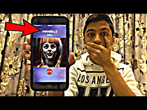 Thumbnail: CALLING ANNABELLE DOLL *OMG SHE ACTUALLY ANSWERED*