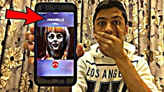 CALLING ANNABELLE DOLL *OMG SHE ACTUALLY ANSWERED*