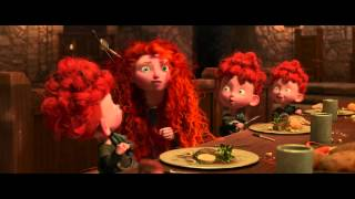 Disney Pixar España | Brave (Indomable): Retrato Familiar - Fergus y Elinor
