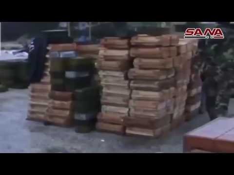 Billions in US weapons abandoned by Al Qaeda in Eastern Aleppo Syria
