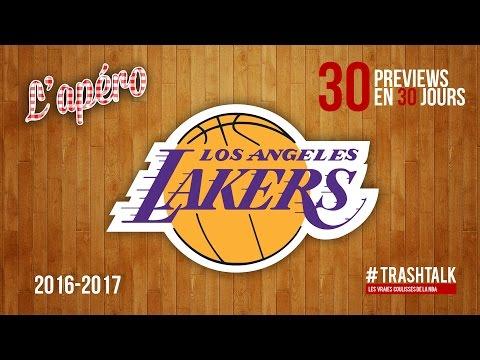 Apéro TrashTalk - Preview saison 2016/17 : Los Angeles Lakers