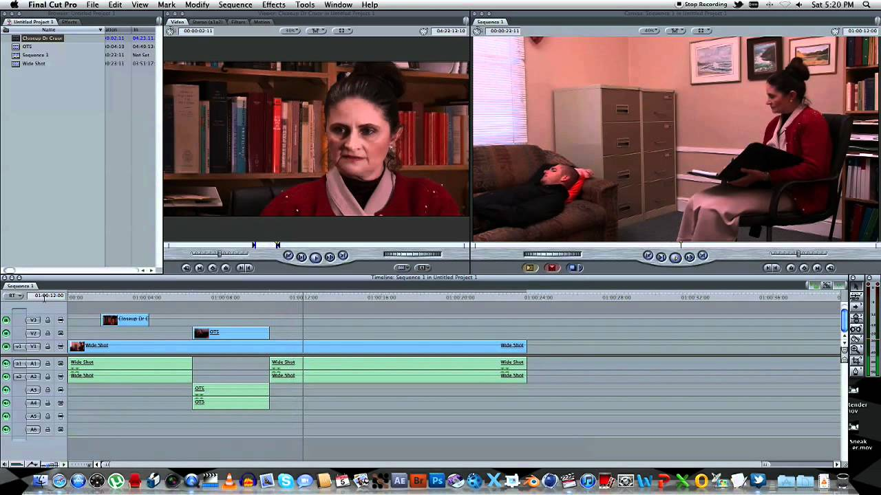 Tutorial how to shoot and edit a dialogue scene youtube ccuart Gallery