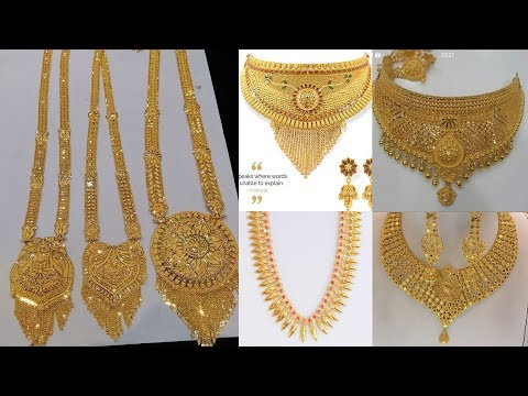latest-light-weight-necklace-and-haar-designs-collection-|-wedding-necklace-designs