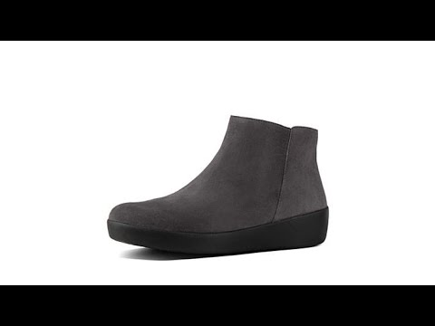 07c8b7f54 FitFlop Sumi Suede Ankle Boot - YouTube