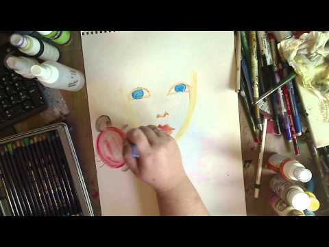 INKTENSE Pencils and Blocks Demo