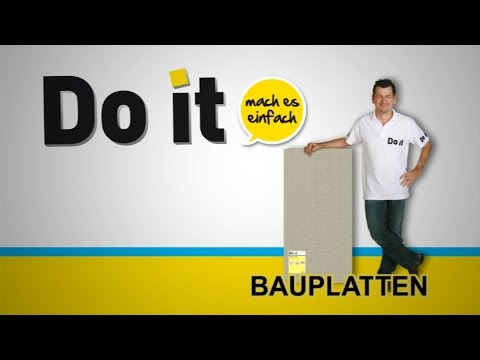 doit bauplatten imagefilm sd youtube. Black Bedroom Furniture Sets. Home Design Ideas