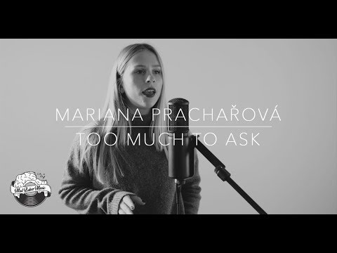 Niall Horan - Too Much To Ask (cover by Mariana Prachařová)