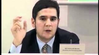 """Fórum """"A Economia das Línguas Portuguesa e Espanhola""""  - Benito Burgos"""