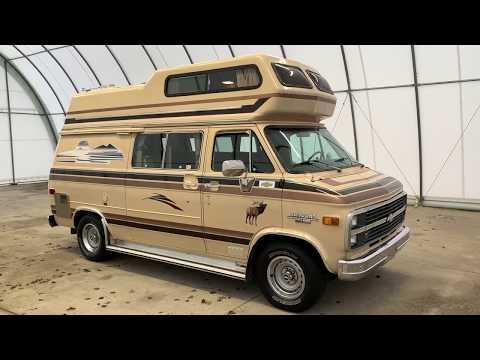 1984 Elk Camper Van Class B Motorhome SOLD SOLD SOLD Www.truckandrv.com