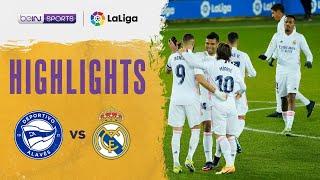 Alaves 1-4 Real Madrid | LaLiga 20/21 Match Highlights
