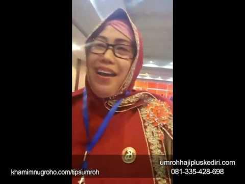 Testimoni Ibu Siti Malikatin-konsultan biro perjalanan umroh haji plus PT.ARMINAREKA PERDANA