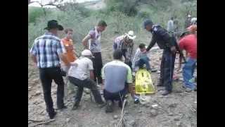 Accidente en el Chiquihuitero Calvillo