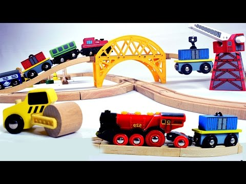 toy train videos for children -  train for kids - train videos - chu chu train