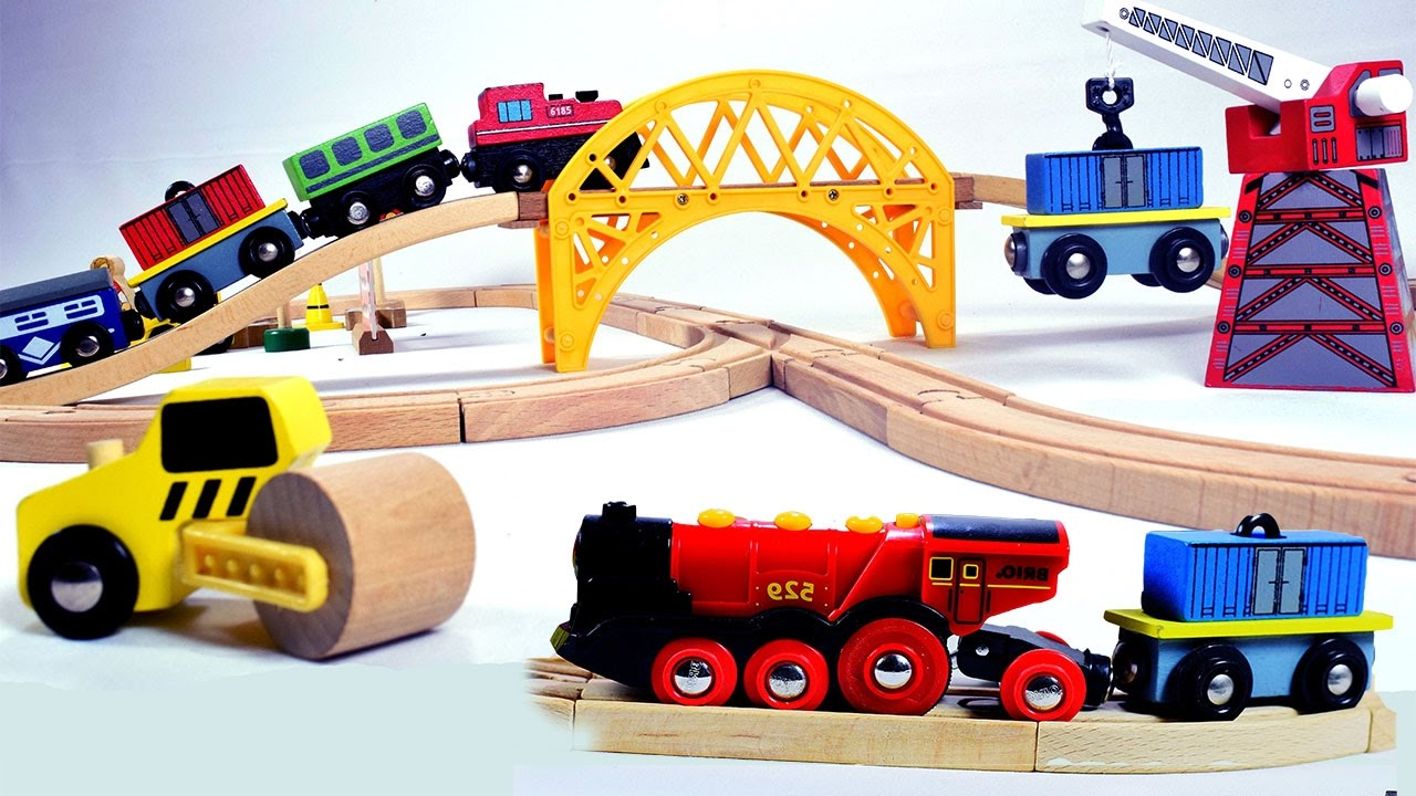 Toy Train Videos For Children Kids Chu You