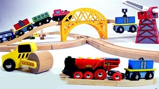 toy train videos for children -  train for kids - train videos - chu chu train
