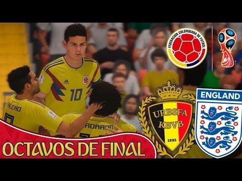 FIFA 18 World Cup - COLOMBIA A OCTAVOS Y DURO RIVAL | #2