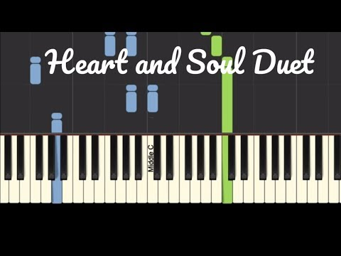 How to play Heart and Soul duet on the piano