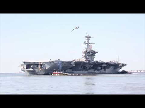 Why The Navy Swapping Home Ports for Three Aircraft Carriers