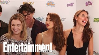 The 100's Eliza Taylor: Excited For Clarke To Take On Mother Role | SDCC 2017 | Entertainment Weekly