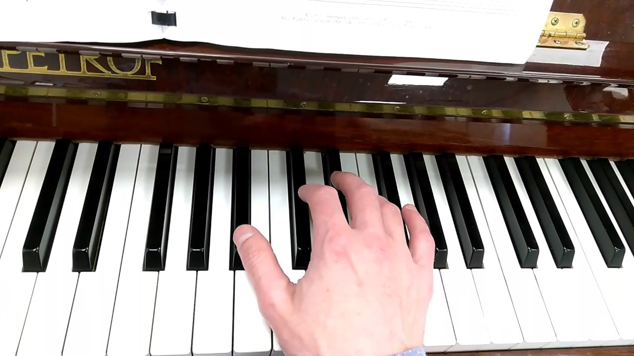 B Flat Chord Piano How to play a B flat m...