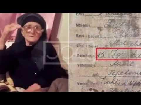 Gjyshja 108 vjeçe nga Tepelena, na tregon sekretin e jetëgjatësisë së saj, Besimi në Zot dhe…