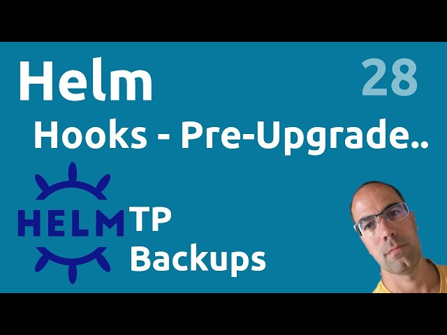 TP Hooks - Pre-Upgrade : redis backup - #Helm 28