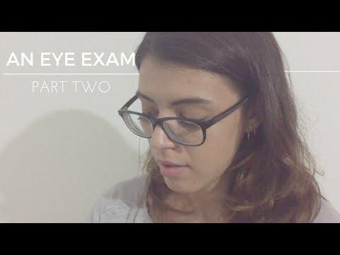 ASMR | An Eye Exam (Part 2)