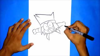 HOW TO DRAW K.O. |  OK K.O.  LETS BE HEROES