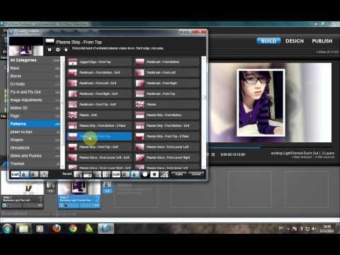 Hướng dẫn chèn ảnh & video background vào slide trong Proshow producer 5.0