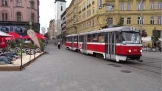Walking in Brno, Czech Republic