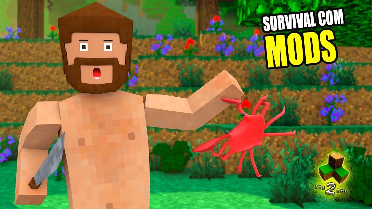 NOVA SÉRIE SURVIVAL COM MODS NO SURVIVALCRAFT 2 #1