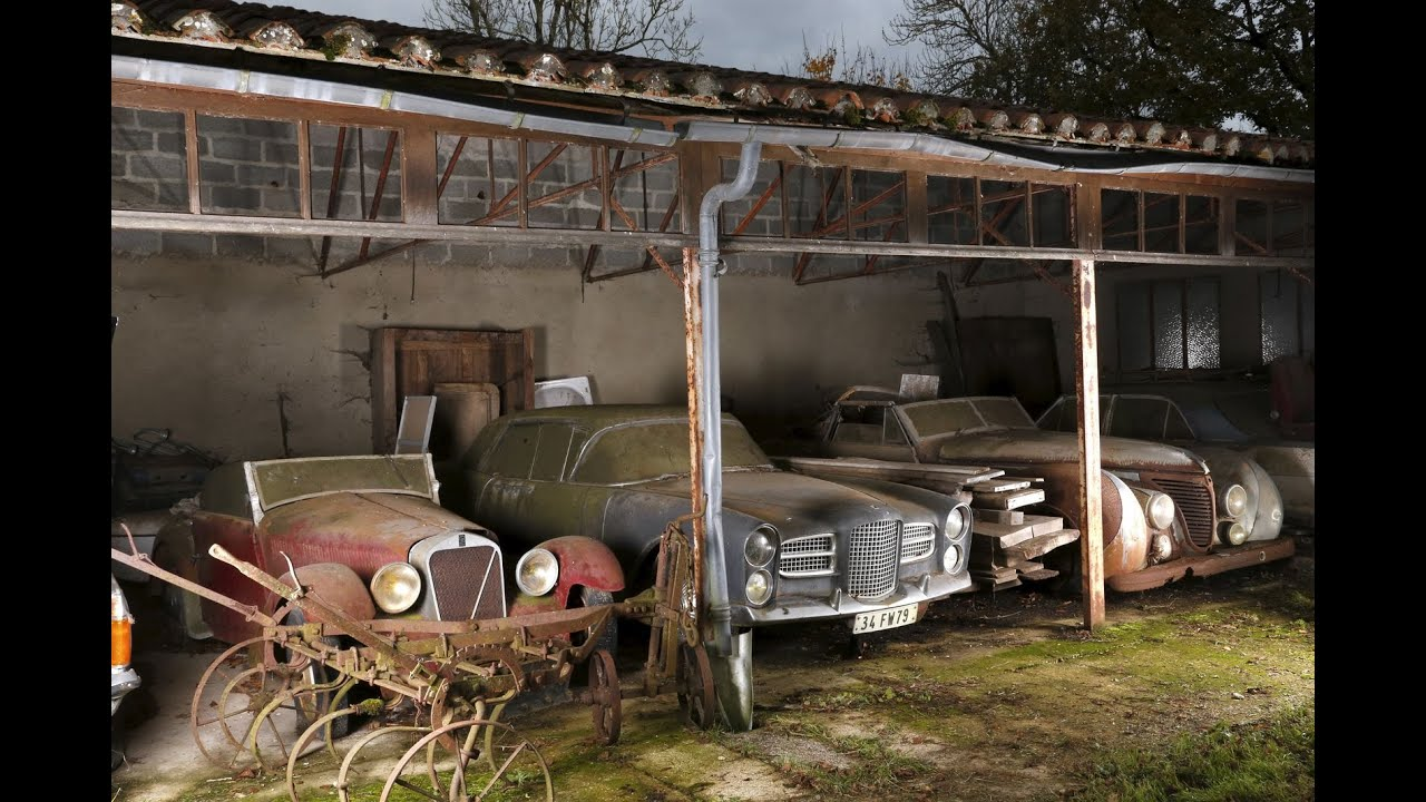 Abandoned cars in barns us 2016 old vintage cars for Garage volvo poitiers