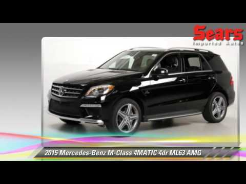 New 2015 mercedes benz m class 4matic ml63 amg for Mercedes benz bloomington mn