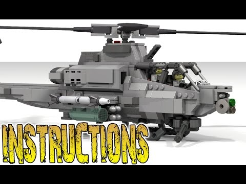 How to Build AH-1Z VIPER (SUPER COBRA)