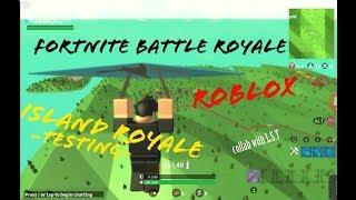 FORTNITE in ROBLOX?! W/ L.S.T (Island Royale #1)