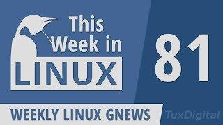 Linux 5.3, GNOME 3.34, Manjaro, Destination Linux Network, Mumble, Telegram | This Week in Linux 81