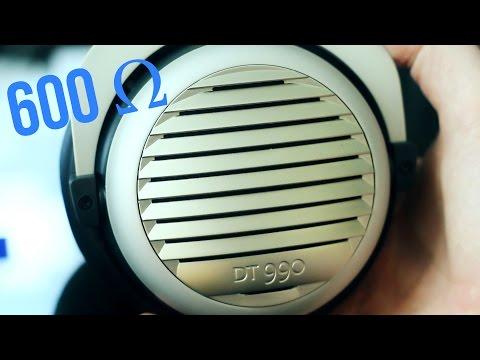 600 OHM HEADPHONES?! - Beyerdynamic DT990 Review