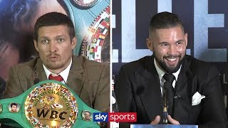 Oleksandr Usyk vs Tony Bellew | Full Press Conference 🥊