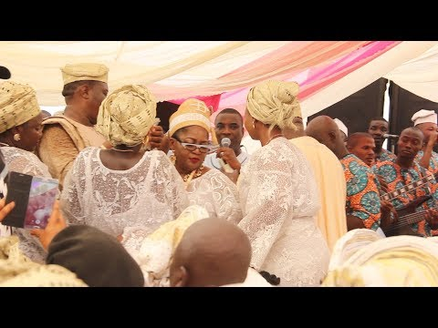 SADE TINUBU SPOILS K1 DE ULTIMATE AT 10TH CORONATION PARTY OF TIMI OF EDE