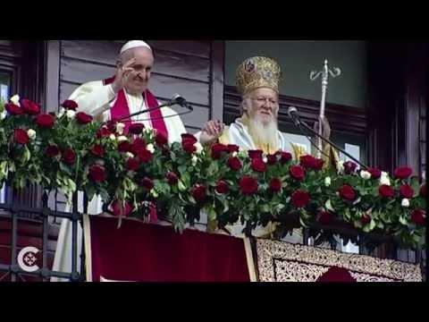 Pope, patriarch pray for unity