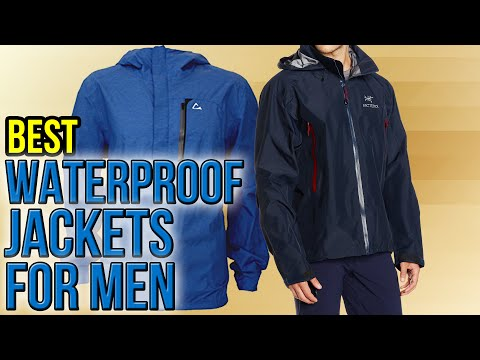 10 Best Waterproof Jackets For Men 2016