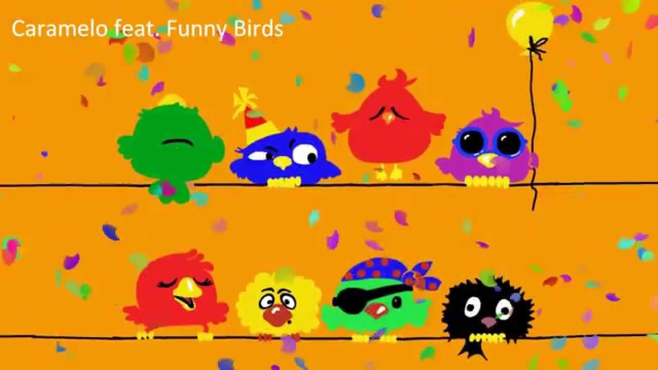 happy birthday song  funny birds version