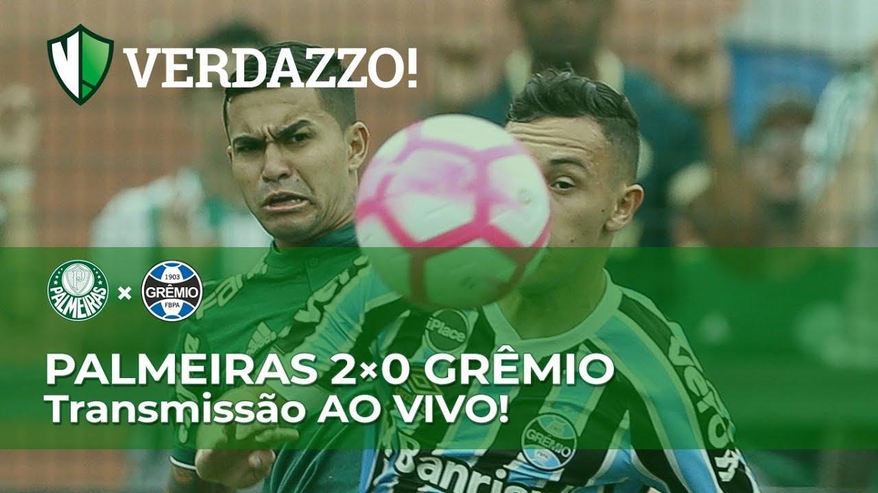 Palmeiras x Grêmio - Brasileirão 2018 - TRANSMISSÃO AO ...